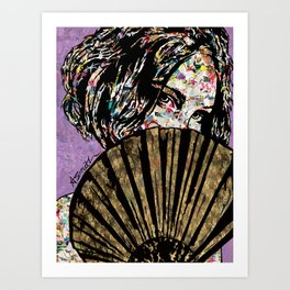 Playing Coy Art Print