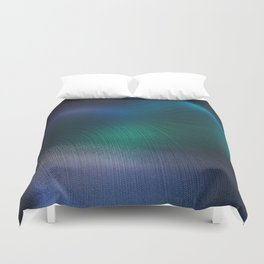 Beauty of the Northern Lights Duvet Cover