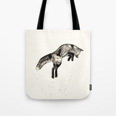 Fox Ink Tote Bag