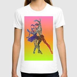 Lets go dancing T-shirt