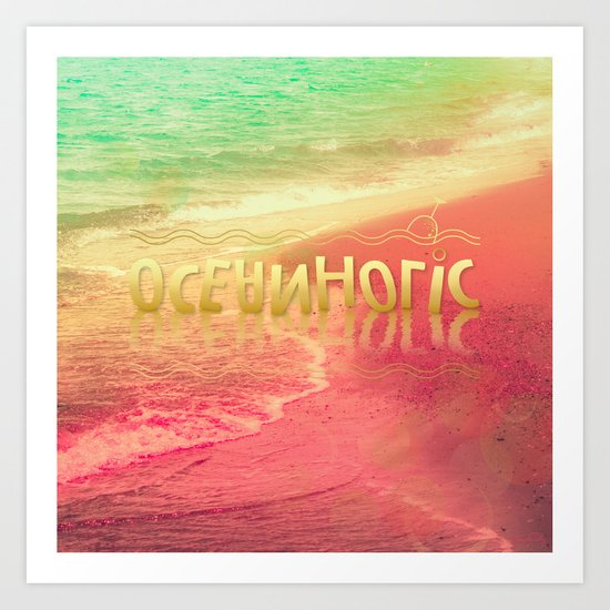Beach Waves III - Oceanholic Art Print
