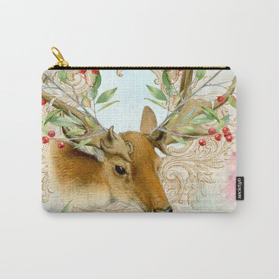 Winter animal #6 Carry-All Pouch