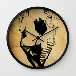 Trapeze Wall Clock