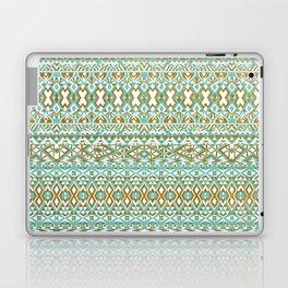 Mint & Gold Tribal Beach Laptop & iPad Skin