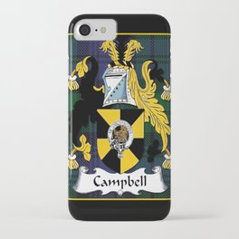 Campbell Clan Scottish Coat Of Arms And Crest iPhone Case