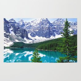 Canadian Wonder: Moraine Lake Rug