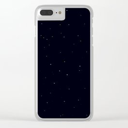 Starry Sky Clear iPhone Case