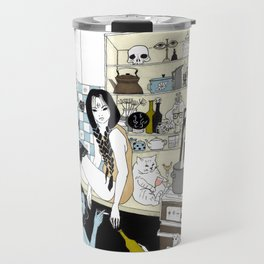 Autumn time sadness Travel Mug
