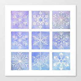 Winter Window Canvas Print