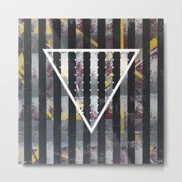 Polarized - Triangle Metal Print