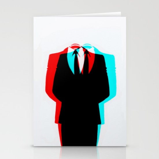 Anonymous.1 Stationery Cards