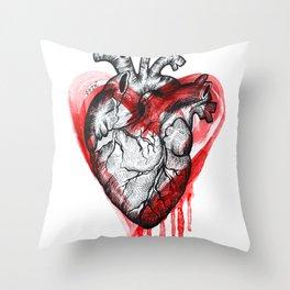 THE HEART Throw Pillow