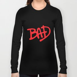 Bad Black Mj Jackson Fit Gym Crossfit Workout All Sizes Gym T-Shirts Long Sleeve T-shirt