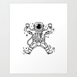 Cosmic Stranger 4 Art Print