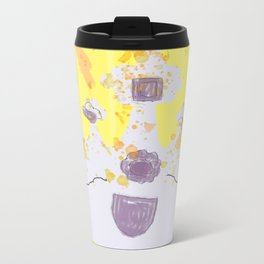 Always Wear Your Invisible Crown: Medieval Yellow Metal Travel Mug