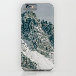 Snowy Mountain Peaks   Landscape Photography Alps   Print Art iPhone Case