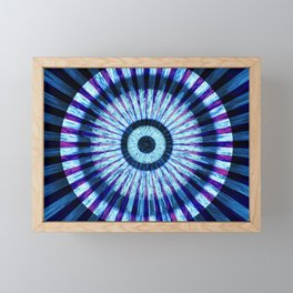 Eye Of The Storm Framed Mini Art Print