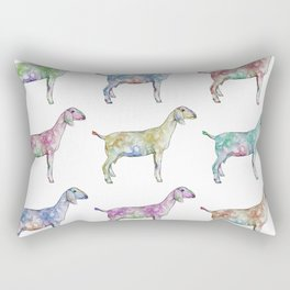 Rainbow Nubians Rectangular Pillow