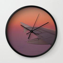 Flying dream Wall Clock
