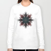cyberpunk Long Sleeve T-shirts featuring Nucleotid by Obvious Warrior