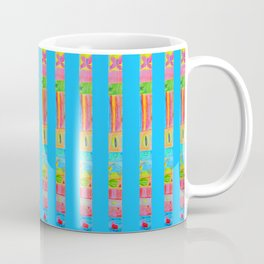 Flower Vase   Kids Painting   3D Collage Coffee Mug