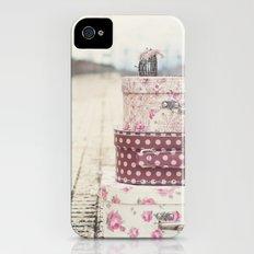 Vintage travel iPhone (4, 4s) Slim Case