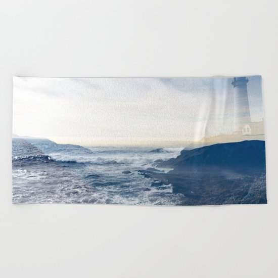 Washed Up Beach Towel