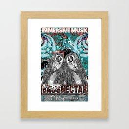 Bassnecter Framed Art Print