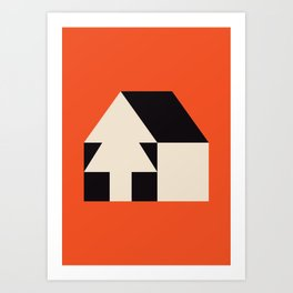 Home away from home Art Print