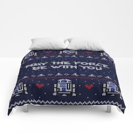 May The Force Be With You Comforters