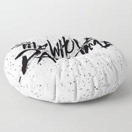 The Whole Damn Time FitzSimmons Floor Pillow