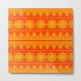 Indian Designs 207 Metal Print