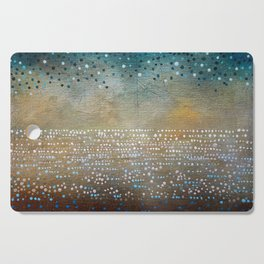 Landscape Dots - Turquoise Cutting Board