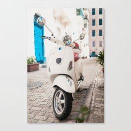 Valletta Streets Canvas Print