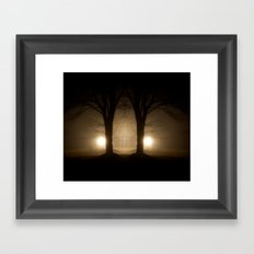 Ominous Framed Art Print