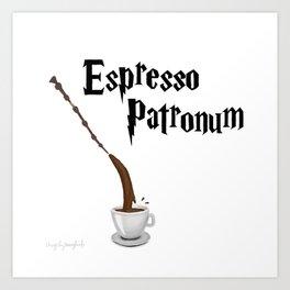 Espresso Patronum design Art Print