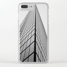 Grandiose Edifice Clear iPhone Case