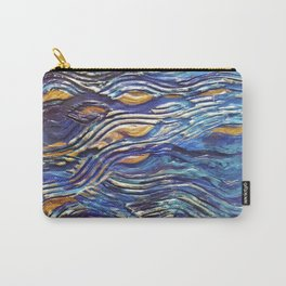 Abstract nautical background Carry-All Pouch