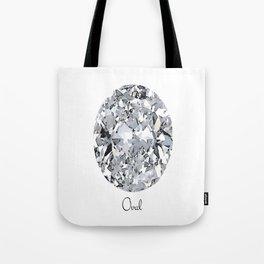 Oval Tote Bag