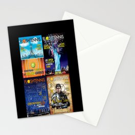 Tennis Magazine Covers Stationery Cards