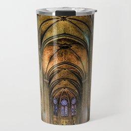 Notre Dame de Paris interior Travel Mug