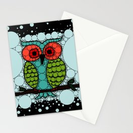 Curiosity Never Killed an Owl Stationery Cards