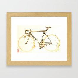 Coffee Wheels #09 Framed Art Print