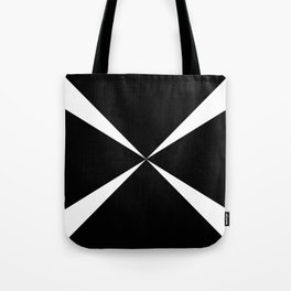 Simple Construction White Tote Bag
