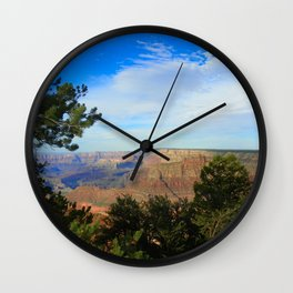 Canyon and the Sky  Wall Clock