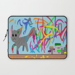 Artistic kitten  Laptop Sleeve