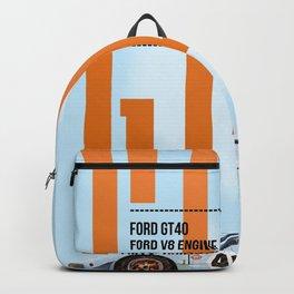 GT40 Gulf Tribute Backpack
