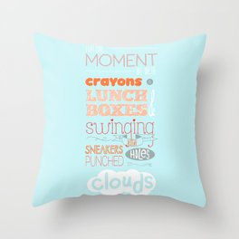 Swinging So High  Throw Pillow