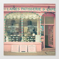 Sweet Cafe Canvas Print