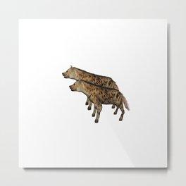 Anisue's Hyena. Metal Print